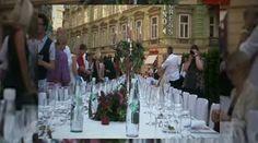 Die Lange Tafel in Graz: Wenn die Steiermark ihre landwirtschaftlichen Produkte feiert.