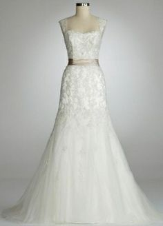 David's+Bridal+Catalog+Vinatge+Look | Davids Bridal Wedding Dress by Mirly