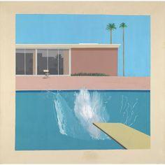 TATE PRINT: David Hockney A Bigger Splash (unframed)