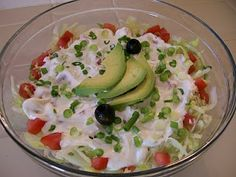 Shelly's Mexican Layered Salad