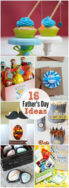 16 Easy Father's Day Gift Ideas and Printables! -- Fun ways to celebrate dad on fathers day! Easy Father's Day Gifts, Simple Gifts, Cute Gifts, Fathers Day Crafts, Happy Fathers Day, Holiday Crafts, Holiday Fun, Holiday Decor, Craft Gifts