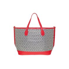 SS2012 Bucket Tote - White/Red