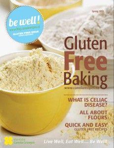 Be Well Magazine - Gluten Free Baking Edition   www.blog.canolarecipes.ca