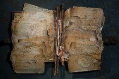 "Ron Pippin ""Manuscript No. Paper Book, Paper Art, Paper Crafts, Altered Books, Altered Art, Artist Journal, Journal Art, Art Journals, Bullet Journal"
