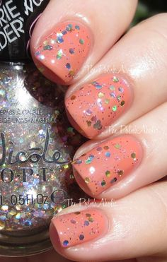 The PolishAholic: Nicole by OPI Carrie Underwood Collection Swatches - Lips are Dripping Honey over Sweet Daisy