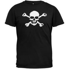 Old Glory - Mens Skull & Crossbones T-Shirt