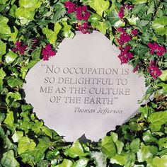 Organic gardening is a goal many people have but simply never take on the challenge. Having healthy soil in your garden will help your number one defense against pests! Healthy plants are stronger and more able to resist both pests… Continue Reading → Love Garden, Garden Club, Garden Art, Garden Crafts, Shade Garden, Garden Ideas, Jefferson Quotes, Thomas Jefferson, Gardening For Beginners