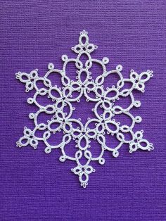 Snowflake - Tatting by the Bay: Free Patterns: