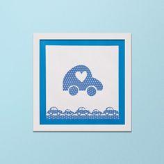 Quadro Infantil - Carrinho - Decor Quadros - decore com arte!