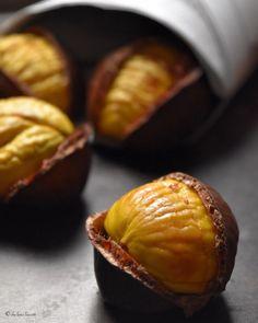 5 Steps for Oven Roasted Chestnuts Recipe Link:  Mein Blog: Alles rund um die Themen Genuss & Geschmack  Kochen Backen Braten Vorspeisen Hauptgerichte und Desserts