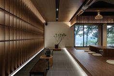 on Behance Japanese Style House, Japanese Interior Design, Japanese Modern, Home Interior Design, Lobby Interior, Cafe Interior, Japan Interior, Chinese Interior, Interior Design Photography