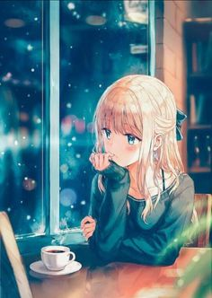 Post with 52 votes and 1408 views. Tagged with anime, kawaii, anime art; We're back with daily uploads guys! Anime Kawaii, Anime Chibi, Manga Anime, Kawaii Art, Kawaii Chibi, Anime Cat, Sad Anime, Anime Love, Beautiful Anime Girl