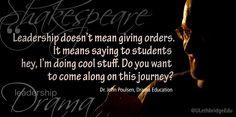 Embedded image permalink Drama Education, Emily J, High School Drama, Say Hey, Educational Leadership, Embedded Image Permalink, Teacher, Student, Sayings