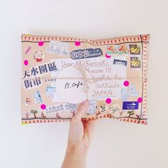 would be a cute pillow Pen Pal Letters, Cute Letters, Pocket Letters, Art Postal, Mail Gifts, Fun Mail, Envelope Art, Handwritten Letters, Happy Mail