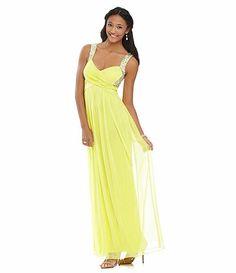 Yellow Prom Dresses Dillard's