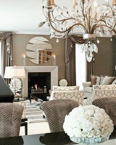 House Interior Design Ideas - Find the most effective interior decoration concepts & motivation to match your style. Browse through photos of decorating suggestions & room colours to create your perfect home. Home Living Room, Living Room Designs, Living Spaces, Small Living, Apartment Living, Beige Living Room Furniture, Apartment Furniture, Cottage Living, Bathroom Furniture
