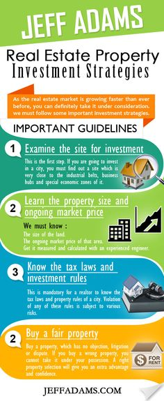 Jeff Adams Real Estate property investment strategies are one of the best guidelines in the real estate field. Jeff Adams provides a lot of  support to the beginners t in this field.