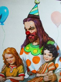 I think this is an appropriate look for Jesus. Clown Christ....YES!