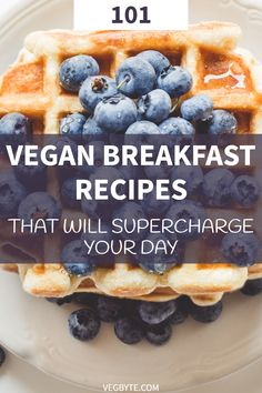 When you want a nice selection of vegan breakfast recipes to choose from, you won't go wrong with this list of 101 amazing recipes to get you started! Vegan Breakfast Recipes | Gluten-Free Vegan Breakfast Recipes | What to Eat on a Vegan Diet | → VegByte.com | #veganbreakfastrecipes #vegandietrecipes