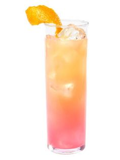 X-Rated Sunrise (Espolón Tequila Blanco, X-RATED Fusion Liqueur, orange juice)