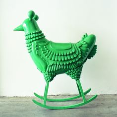 GREEN CHICKEN - Hayon Studio...