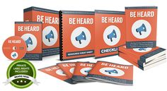 Be Heard - Done-For-You PLR Package Review : Great A Complete PLR Package Including A Comprehensive eBook On A Hot Topic, Sales Materials, Graphics, Email Swipes, And Big Bonuses, With The Bonus Quickstart Guide And 12 Step-by-step Video Tutorials Will Guide You Every Step Of The Way - From Customizing The Product To Uploading It To Your Website,  You've Got Everything You Need To Start Selling It For Profit – By Aurelius Tjin