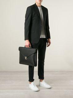#fendi #briefcasse #business #black #men #fashion #office www.jofre.eu