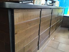 Multi-Level Wall - Anthracite