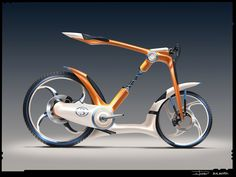 Sci Fi bike Render by zakforeman Bycicle Vintage, Bycicle Art Photo Facebook, Montain Bike, Scooter Girl, Bike Style, Electric Bicycle, Cool Bicycles, Bicycle Design, Transportation Design, Cycling Bikes