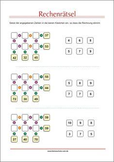 28 best Kostenlose Arbeitsblätter für Mathematik zum Ausdrucken ...