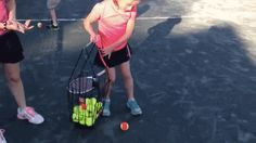 When you felt the delightful pop of a tennis ball going into your hopper.   17 Deeply Satisfying Moments All Tennis Players Have Experienced