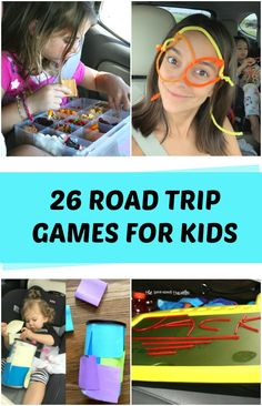 26 Road Trip Games For Kids - C.R.A.F.T. #roadtripgames #roadtrip #roadtriptips Car Games For Kids, Kids C, Road Trip Games, Activities To Do, Business For Kids, Travel With Kids, Holiday Crafts, The Fosters, Crafts For Kids