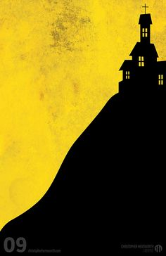 Poster #7 from my 13 Minimalist #Halloween Posters series! | My 13 ...