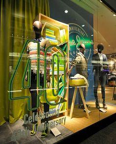 Pepe Jeans windows 2013, Budapest visual merchandising