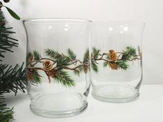 Candle Holders Pine Cone