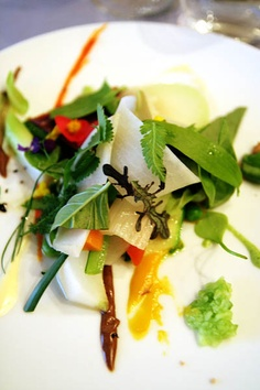Michel Bras... The most incredible salad I ever had...