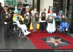 "The Munchkins From the Classic Film ""The Wizard of Oz"" Honored with Star on the Hollywood Walk of Fame  November 20, 2007 - Hollywood, CA USA"
