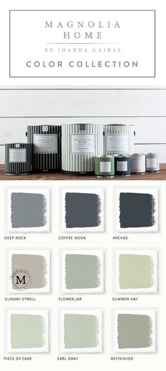This collection of Magnolia Home Paint from designer Joanna Gaines  offers a huge variety of colors for all of your home remodeling needs. Use these neutral colors for your next big DIY project. No matter what your style, Magnolia and KILZ have the perfect paint and primer for you.