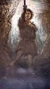SIEGMUND-Na saga dos Nibelungos, é um Wälsung, descende de Odin. Grande guerreiro que brandia a espada mágica Nottung. Antes de morrer, Sigmund enfrenta Odin (sem saber que era ele) e quebra Nottung contra a lança do deus. Sigmund pede que os pedaços da espada sejam guardados para que seu filho um dia restaure-a. O nome do filho é Siegfried.