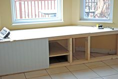 How To Build A Window Seat In A Weekend!