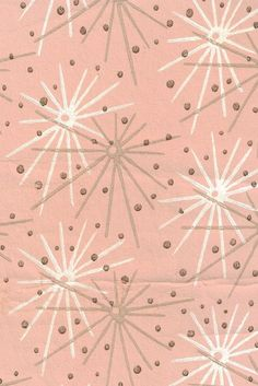vintage wallpaper | pink-starburst Have been trying to find modern version but have failed