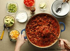 Turkey or Chicken Chili: Turkey or chicken chili