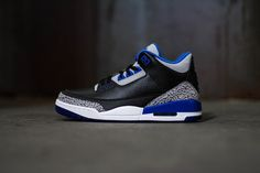 "Image of A Closer Look at the Air Jordan 3 Retro ""Sport Blue"""