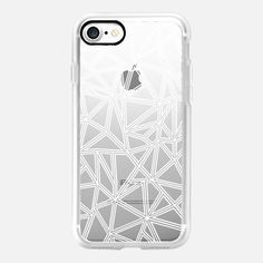 Abstract New White Transparent -  #casetifyiphone7 #iphone7 #geometric #abstract #phonecase