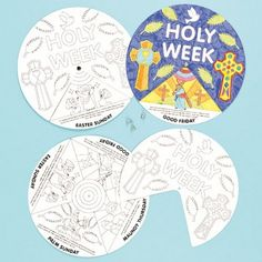 Holy Week Story Wheels