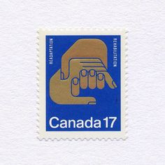 Rehabilitation (17¢). Canada, 1980. Design: Rolf Harder. #mnh #graphilately | by BlairThomson