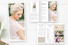 Wedding Photography Brochure Templates Elegant & Modern Wedding Photography Brochure Template to showcase your photography and inform y by By Stephanie Design Photography Brochure, Photography Pricing, Photography Marketing, Modern Photography, Wedding Photography, Photography Tutorials, Photography Magazine, Photoshop Elements, Brochure Design