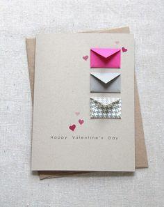 Открытка с конвертами