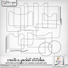 Create a Pocket Stitches by Jen Yurko