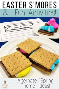 Easter and spring s'mores will keep students engaged this spring while practicing essential writing and math skills! I'm sharing all of the fun activities my students complete this time of year!